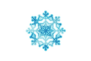 Snowflake Winter Craft Cut File By Creative Fabrica Crafts