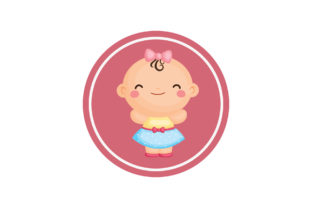 Baby Graphic Illustrations By zia studio