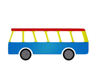 Print on Demand: Bus Travel & Season Embroidery Design By embroidery dp