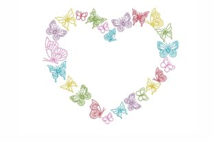 Butterflies Bugs & Insects Embroidery Design By NinoEmbroidery