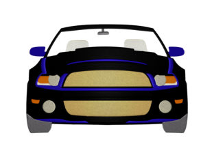 Print on Demand: Cabrio Car Travel & Season Embroidery Design By embroidery dp