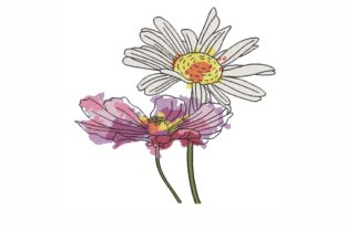 Flowers Bouquets & Bunches Embroidery Design By LizaEmbroidery