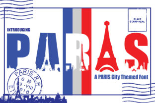 Print on Demand: Paris City Edition Display Font By KtwoP