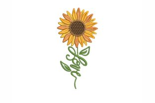 Sunflower Love Mother's Day Embroidery Design By NinoEmbroidery