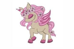 Unicorn Fairy Tales Embroidery Design By LizaEmbroidery