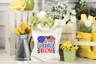 All American Boy Svg Graphic Print Templates By designstore