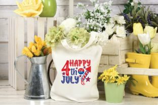 Happy 4th of July Svg Graphic Print Templates By designstore