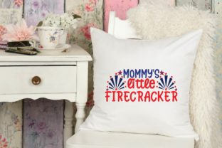 Mommy's Little Firecracker Svg Graphic Print Templates By designstore
