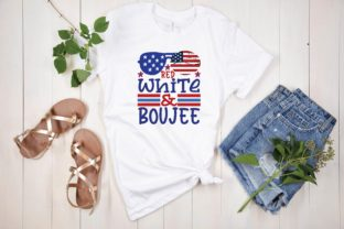 Red White & Boujee Svg Graphic Print Templates By designstore