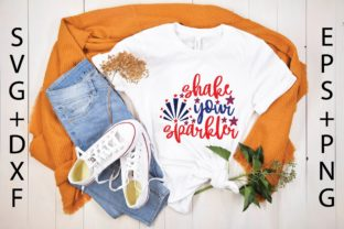 Shake Your Sparkler Svg Graphic Print Templates By designstore