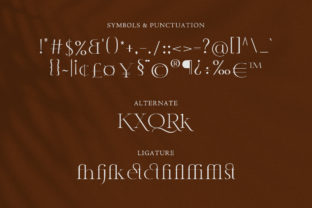 Print on Demand: Classy Serif Font By TypeFactory 3