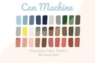 Color Palette Procreate Can Machine Graphic Actions & Presets By Pakka Design Studio