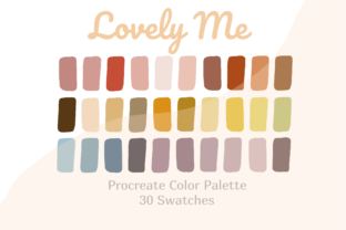 Color Palette Procreate Lovely Me Graphic Actions & Presets By Pakka Design Studio