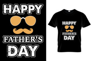 Print on Demand: Fathers Day T-Shirts Design Graphic Print Templates By Depict_Design