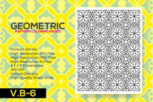Print on Demand: KDP - Coloring Pattern Pages Graphic Coloring Pages & Books Adults By nur_vector