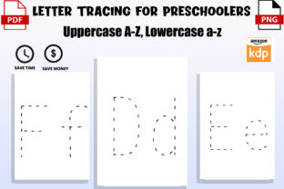Print on Demand: Letter Tracing for Toddlers Graphic PreK By Funnyarti