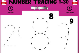 Print on Demand: Numbers Tracing Handwriting Book for Pre Graphic Coloring Pages & Books Kids By Funnyarti