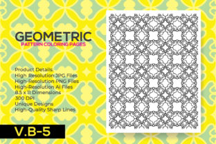 Print on Demand: Pattern Coloring Pages - KDP Book Graphic Coloring Pages & Books Adults By nur_vector