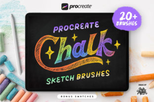 Procreate Chalk Sketch Brushes Graphic Brushes By Nurmiftah
