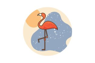 Summer and Vacation Flat Element Graphic Icons By zia studio