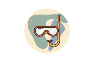 Summer Vacation Composition Graphic Icons By zia studio