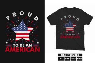 Th July  America Independence T-shirt Graphic Print Templates By hossaingrde