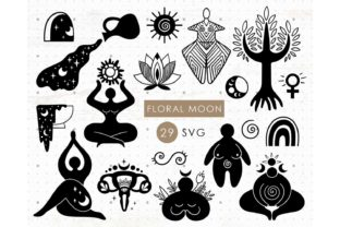 Wiccan Spiral Goddess Female Graphic Illustrations By MySpaceGarden