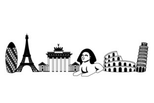 World Landmarks Designs & Drawings Craft Cut File By Creative Fabrica Crafts 2
