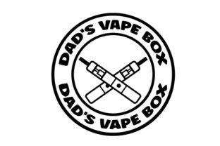 DAD'S VAPE BOX Designs & Drawings Craft Cut File By Creative Fabrica Crafts