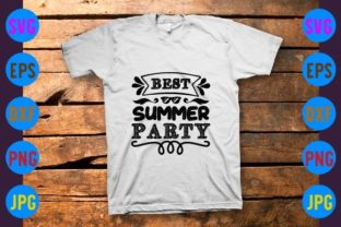 Best Summer Party Graphic Print Templates By craftSVG