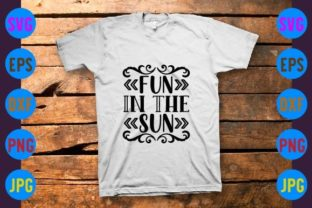 Fun in the Sun Graphic Print Templates By craftSVG