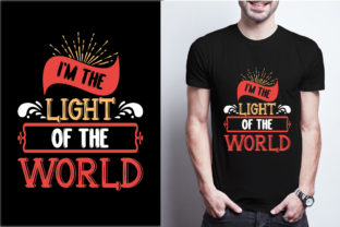 I'm the Light of the World Graphic Print Templates By craftbundle