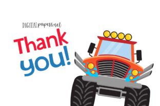Print on Demand: Monster Trucks Clipart Graphic Illustrations By DigitalPapers 3
