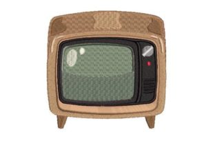 Retro Television Bedroom Embroidery Design By Embroidery Designs