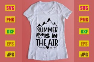 Print on Demand: Summer is in the Air Graphic Print Templates By printSVG