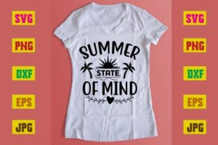 Print on Demand: Summer State of Mind Graphic Print Templates By printSVG