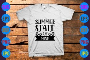 Summer State of Mind Graphic Print Templates By craftSVG
