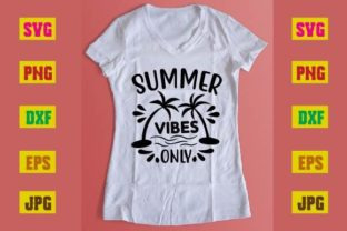 Print on Demand: Summer Vibes Only Graphic Print Templates By printSVG