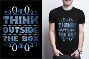 Think Outside the Box Graphic Print Templates By craftbundle