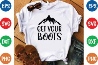 Get Your Boots Svg Graphic Print Templates By designfactory