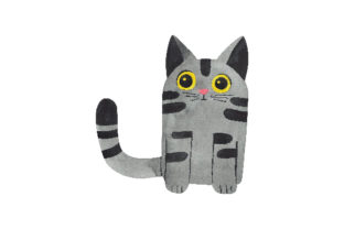 Watercolor Cat Cats Craft Cut File By Creative Fabrica Crafts
