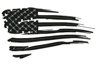 Print on Demand: American Flag Around the world Embroidery Design By litcyz