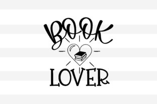 Print on Demand: Book Lover Graphic Print Templates By creative store.net