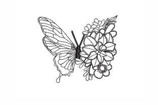 Butterfly Bugs & Insects Embroidery Design By NinoEmbroidery