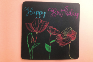 Learn to Use Cricut Foil Transfer System Classes By jenskinner1983