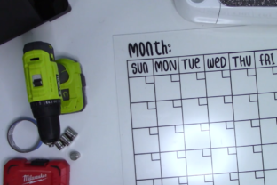 Learn to Create a Functional Dry Erase Calendar Classes By cblackstone1111