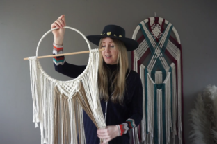 How to Make Your Own Macramé Wall Hanging Classes By Rebecca Millar