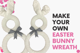 Make Your Own Easter Bunny Wreath Classes By crystalwilsondfw