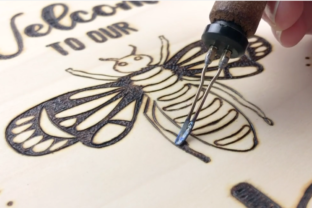 Creating a Bee Wood Burned Project Classes By info3714