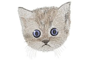 Print on Demand: Cat Cats Embroidery Design By ArtEMByNatali